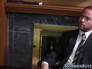 Bound gay mormon elder