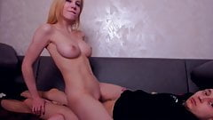 Gorgeous Pretty Teen Gets Her Pussy Rammed