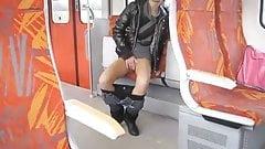 Train Flasher Amateur Girl's Thumb