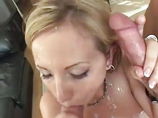 TEEN SLUT TAKES TWO HOT LOADS OF CUM