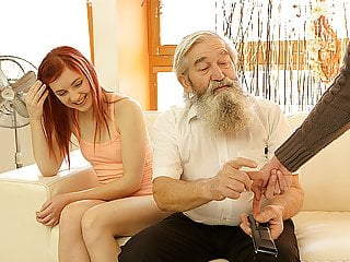 Daddyk Submissive Redhead Enjoys Pussy Fingering For