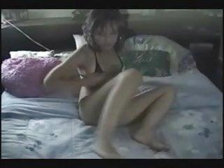 Latin Teen Tease  Black Mini Bikini