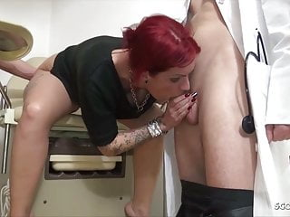 Teen Anica Red Talk To Some Fuck At Gynecologist German