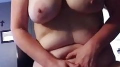 Horny and hot milf orgasm