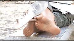Sexy Feet in Public