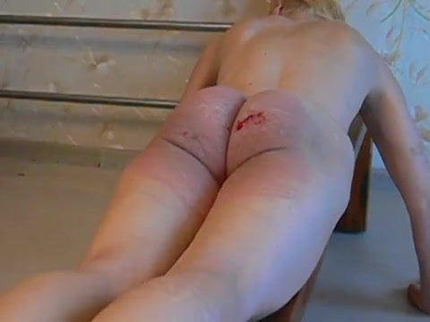 clips video caning Lesbian punishment