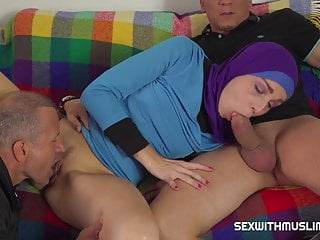 Lazy muslim maid gets hardcore double penetration