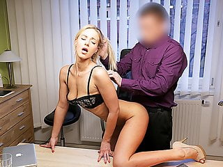 Loank Hot Chick Nathaly Fucked Hard In Order To Pay For