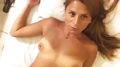 Turkish married bitch teasing her boyfriend and selfie shot