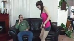 Daugher fucks older guy