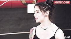 LETSDOEIT - Wild Interracial Anal With Hot Anna De Ville