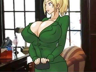 Hentai media funny game - Hentai sex game how to get a job being a big boobs blonde