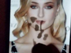 Sophie Turner Cum Tribute