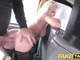 Preview 5 of Fake Taxi Hot estate agent gets creampied