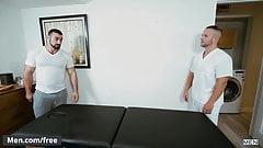 Men.com - Jaxton Wheeler and Luke Adams - Right In Front Of