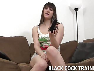 I want to feel your big black cock in my tight tranny ass