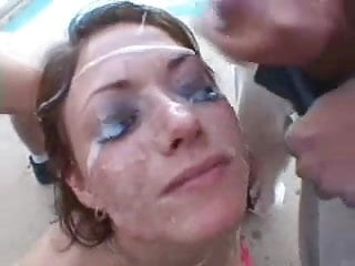 Brunette Hotty Fucks ONLY ONE Guy - Feels Bad and BLOWS all his friends! Watch Read Rate Comment!