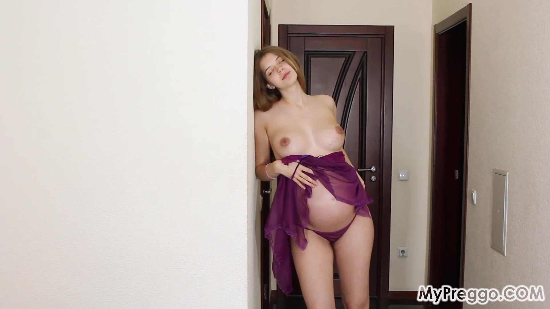 Energists – Canella Pregnant Teen in Horny Lingerie