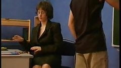Mature Woman Teacher creampie