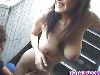 Sassy big tits Mayu Kotono enjoys gett - More at hotajp.com