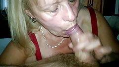 Granny Jan what a cock sucker