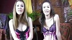 Cute Asian Ladyboys Play