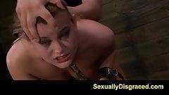FetishNetwork Kayleigh on slave training