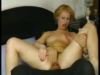 Cowboy fucks mature woman anal
