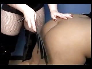Fat indian sub gets spanked and fucked with strapon