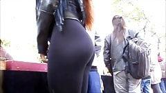 Hot Latina Girl in Tight Yoga Pants 2