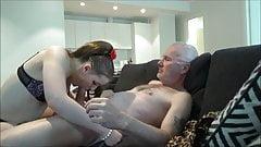 Estonian whore Angel suck six customers!