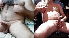 Skype Wank & Cum with Turkish Stud
