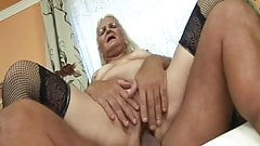 The horniest granny ever