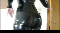 Lovely shiny ass