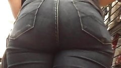 Extreme Close Up Hot White Booty