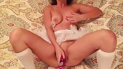 Masturbating with my new Toy Part2
