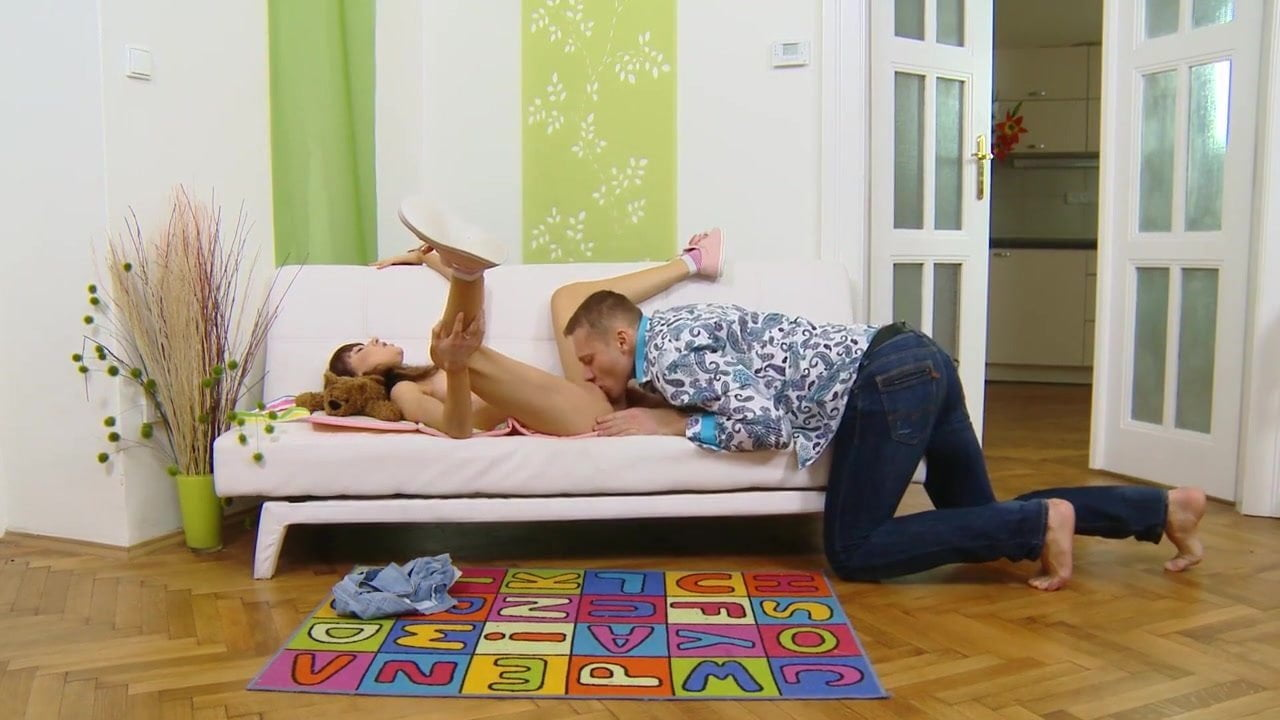 Russian slut sister cums on dick her brother (HOT!!!)