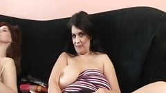 Horny Grannies Playing With Toys