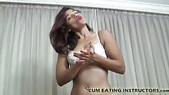 I want to watch you eat your own cum CEI