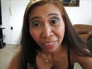 Asian granny facials