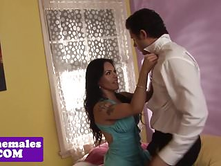 Preview 1 of Busty latina trap sucks before getting plowed