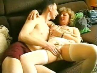 Nerdy Guy Fucks His Aunt