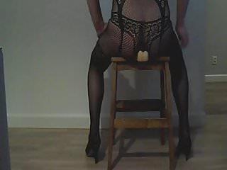 sissy chastity fuck dildo