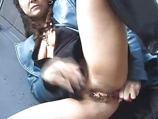 Prostitute Steals Butt Plug And Plays With It In Public