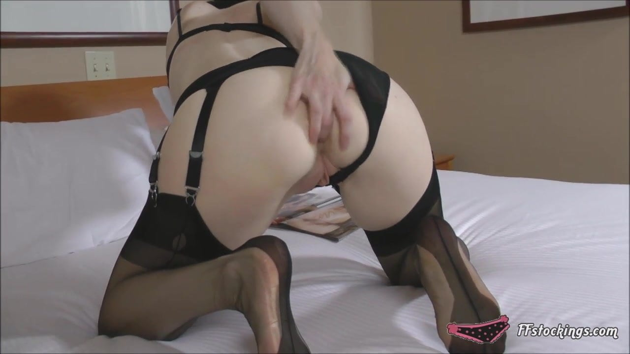 Mature Stocking Lady Fills Her Ass And Pussy Free Porn 3E-4380