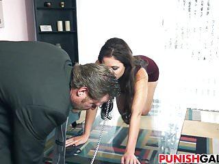 Punishing cheating GF Blair Summers