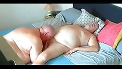 Chubby cum in month