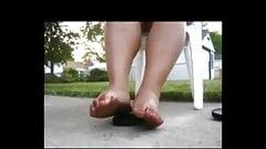 Ebony Legs And Feet