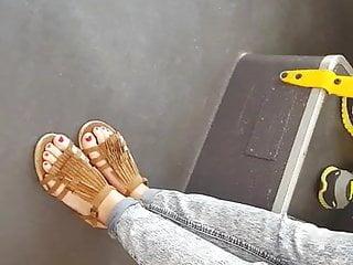 Very hot teen feet pt1