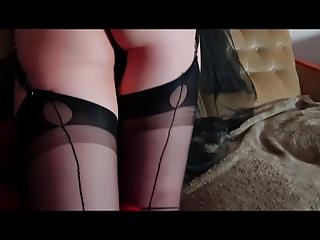 Gia Saphirre - Element Fire of Nylon Stocking Legs 2018
